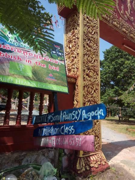 Monastry offering meditation classes