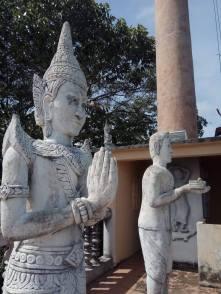 At the top of the Samathi pagoda