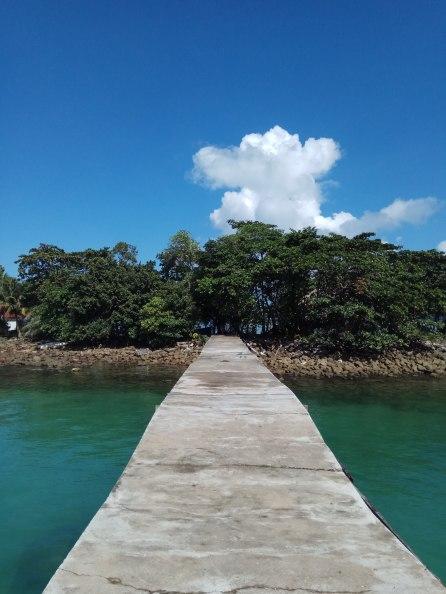 Pier at M'Pai Bai