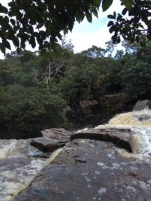 Waterfall Bokor mountain