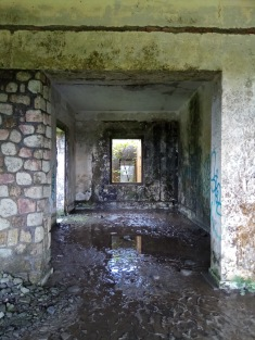 Abandoned building Bokor mountain