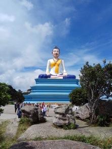 Big Buddha Bokor Mountain