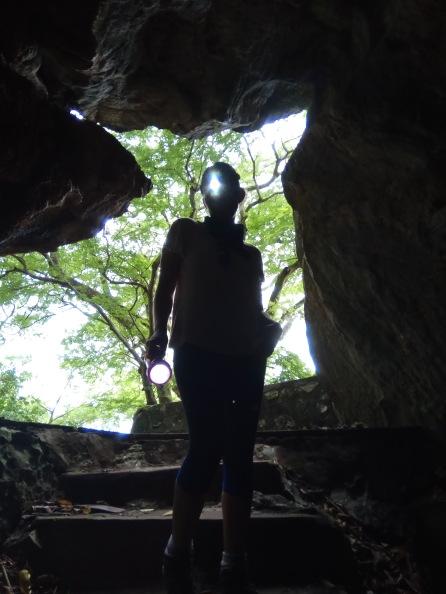 Sassy caving