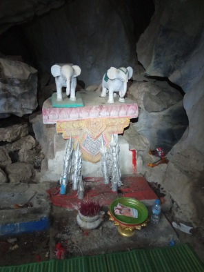 White elephant caves