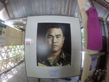 Aki Ra at the Landmine Museum