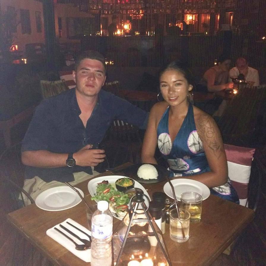 Birthday dinner at Link